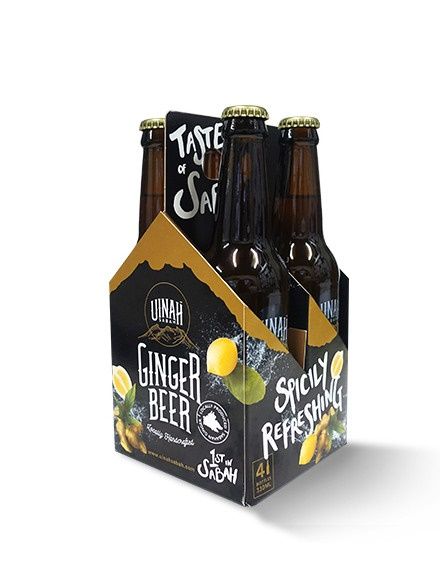 Uinah Ginger Beer Four-Pack
